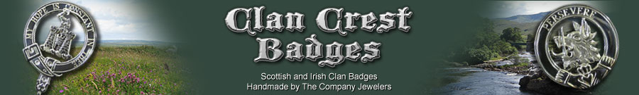 Scottish Irish Clan Crest Badges